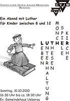 Ein Abend mit Luther