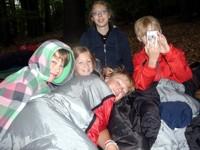 Waldübernachtung