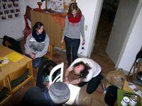Stühle-Kunstprojekt