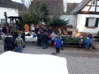 Unser Stand auf dem Weihnachtsmarkt